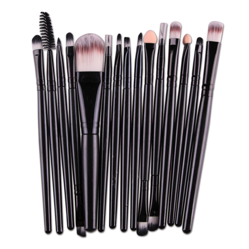 Прямая поставка, косметические кисти для макияжа, женские Основы, тени для век, подводка для глаз, кисти для макияжа глаз, набор SMJ, 6/15 шт.