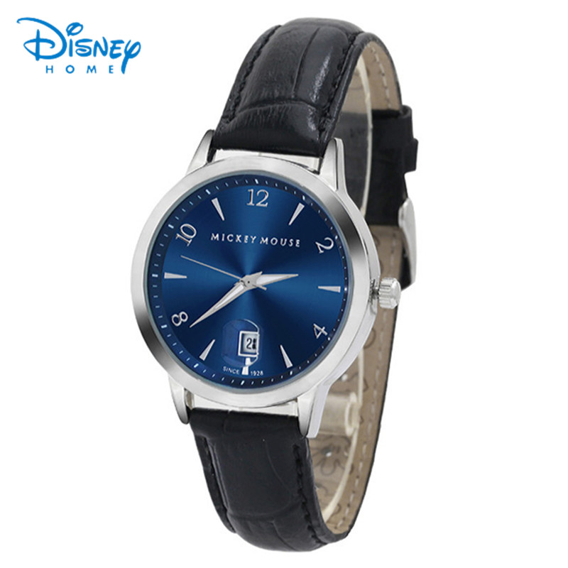 Disney watches relojes hombre brand Quartz Watch men Casual Business Leather Analog Watch Men's Relogio gift 79002