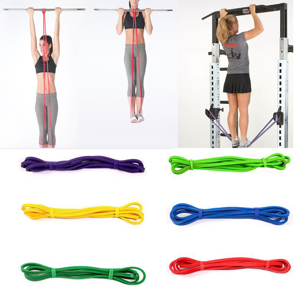Resistance Loop Bands Elastic Band Equipment Gum For Fitness Training Pull Rope Rubber Bands Sports Yoga Exercise Gym Expander