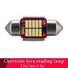 2 teil/satz 31mm led girlande Canbus licht elektrische led 12 V licht Gepäckraumbeleuchtung c5w girlande 31mm leselicht