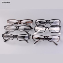 Mix Wholesale promotion 2018 vintage eyeglasses man High Quality optical glasses for Reading Eyeglasses put Prescription lens
