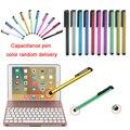 F8S Keyboard with LED 7 Colours Backlit Aluminium Wireless Bluetooth Keyboard Smart Folio Case for iPad Pro 9.7