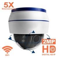Anpviz 1080P 5X HD Wireless PTZ mini Dome IP Camera Zooming videcam WIFI surveillance Webcam home alarm system CCTV Webcam