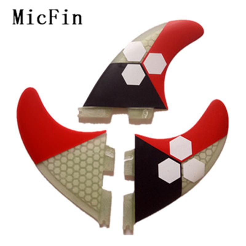 Высококачественные ласты FCS 2 G5 2019 3 шт./лот с стекловолокном, материал медовой расчески для серфинга 001 Размер M /G5