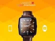 Lederband Bluetooth SmartWatch U11C Smart Watch Phone Unterstützung Sim-karte Medien Spielen Für iPhone Android PK U8 DZ09 GT08