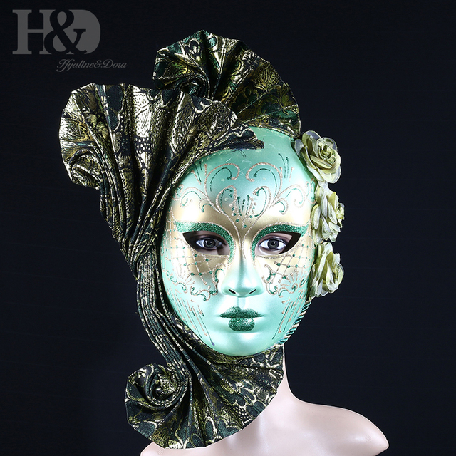 Aliexpress.com : Buy H&D Novelty Full Face Women Masquerade ...