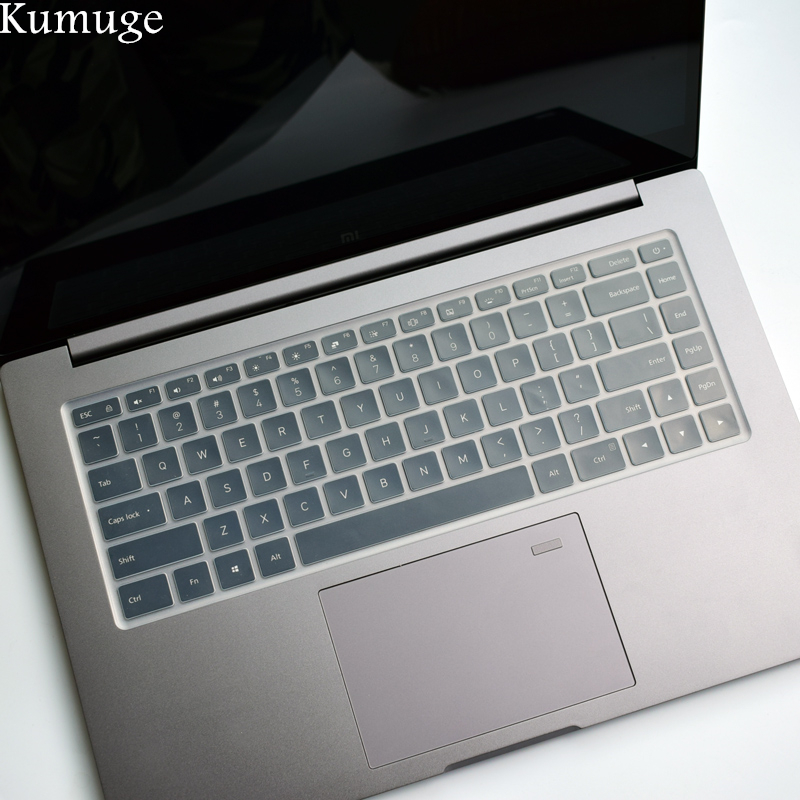 2018 Transparent TPU Silicone Keyboard Cover Skin for Xiaomi Mi Notebook Air Pro 15.6 inch Laptop Keyboard Protector Stiker Skin