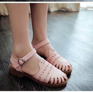 e95333b791ffd9 Shoes woman Strappy Cover Women Fretwork Sandal Open Toe Platform Sandals  Jelly Shoes Summer Shoes Gladiator Jelly sandals