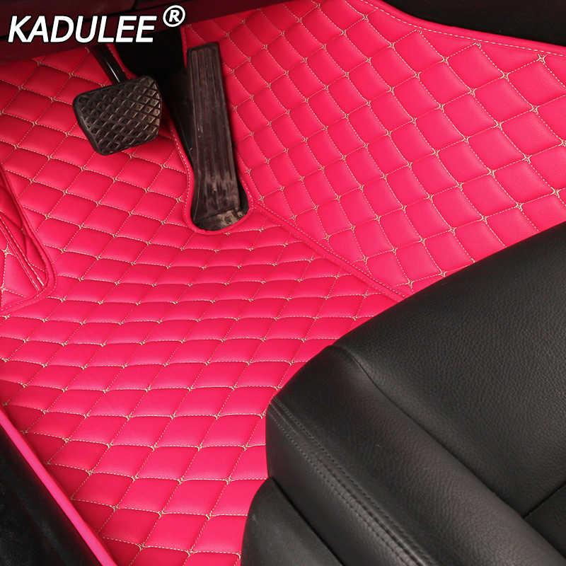 KADULEE รถสำหรับ Ford FUSION Fiesta F150 S-Max Ranger Explorer 5 Mustang Mondeo KUGA EDGE อุปกรณ์เสริม mats