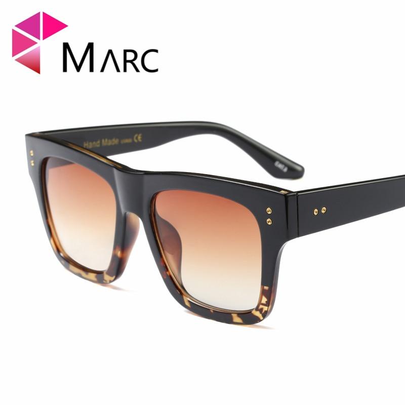 19d6c38e4cb45 MARC UV400 WOMEN sunglasses Driving Gradient Plastic Leopard sol gafas  Oculos eyewear Square Blue MEN-in Sunglasses from Women s Clothing    Accessories on ...
