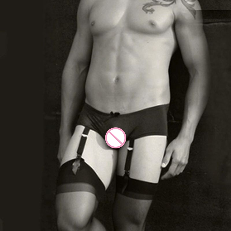 (4 Teile/los) Männer Strümpfe Socken Männer Strumpfbänder Für Männer Entenschnabel Clip Strumpfband Strümpfe Strumpfbänder Sexy Männlichen Strumpfband Gürtel