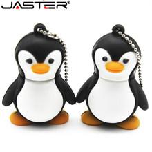 JASTER lovely Penguin animal 4gb/8gb/16gb penguin cartoon Memory Stick pen drive avenger usb flash drive  Free shipping