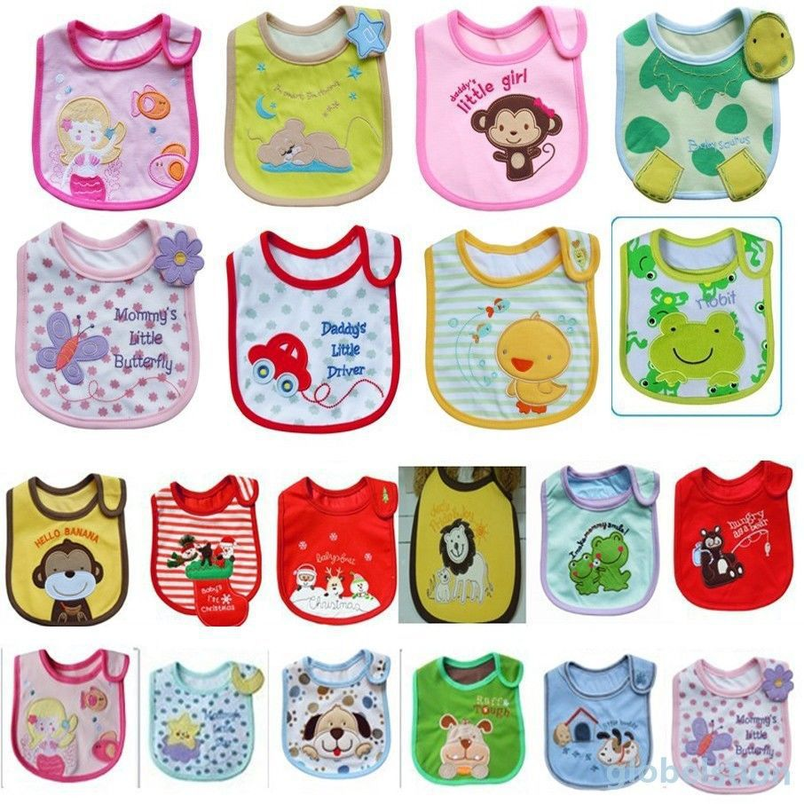 Cute Baby Towel Saliva Waterproof New Kids Cartoon Pattern 3 Layer Toddler Lunch Bibs New Arrival cute doughnut pattern beach towel for women