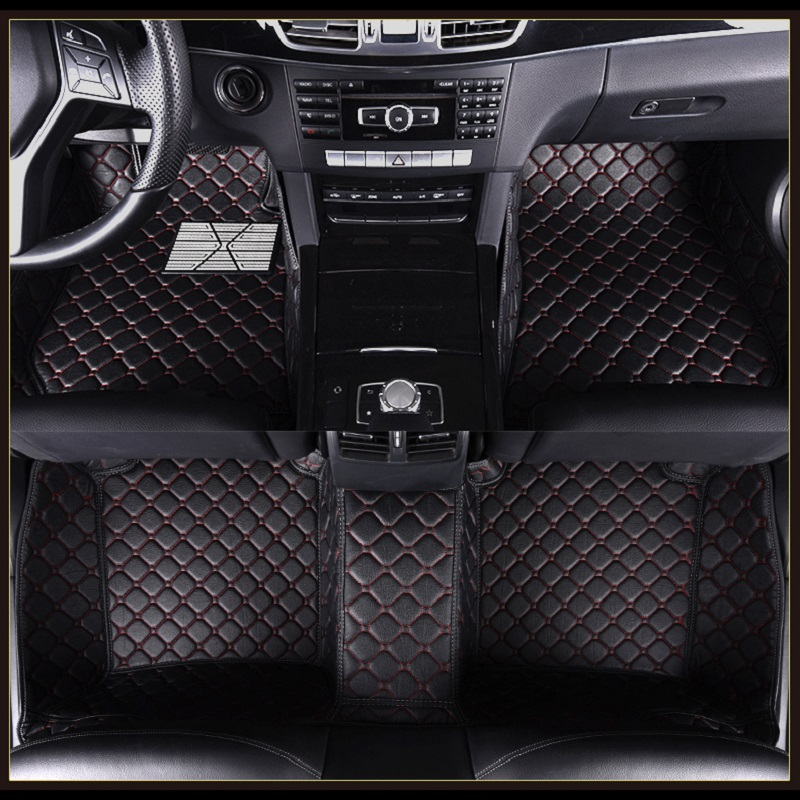 ZHAOYANHUA Car Floor Mat For RHD/LHD Mercedes Benz E class 200 260 300 350 400 500 550 220d 350e W110 W114 Car Styling Carpets image