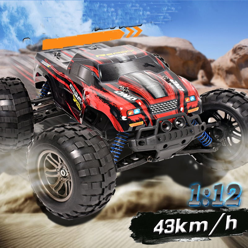 2.4G Radio Control RC Cars Off-road Vehicle Toy 1:12 4WD High Speed Shockproof Rubber wheels Competitive speed car For Christmas wltoys 12402 rc electric truck supper car 1 12 4wd 2ch radio remote control high speed off road monster climbing car vehicle toy