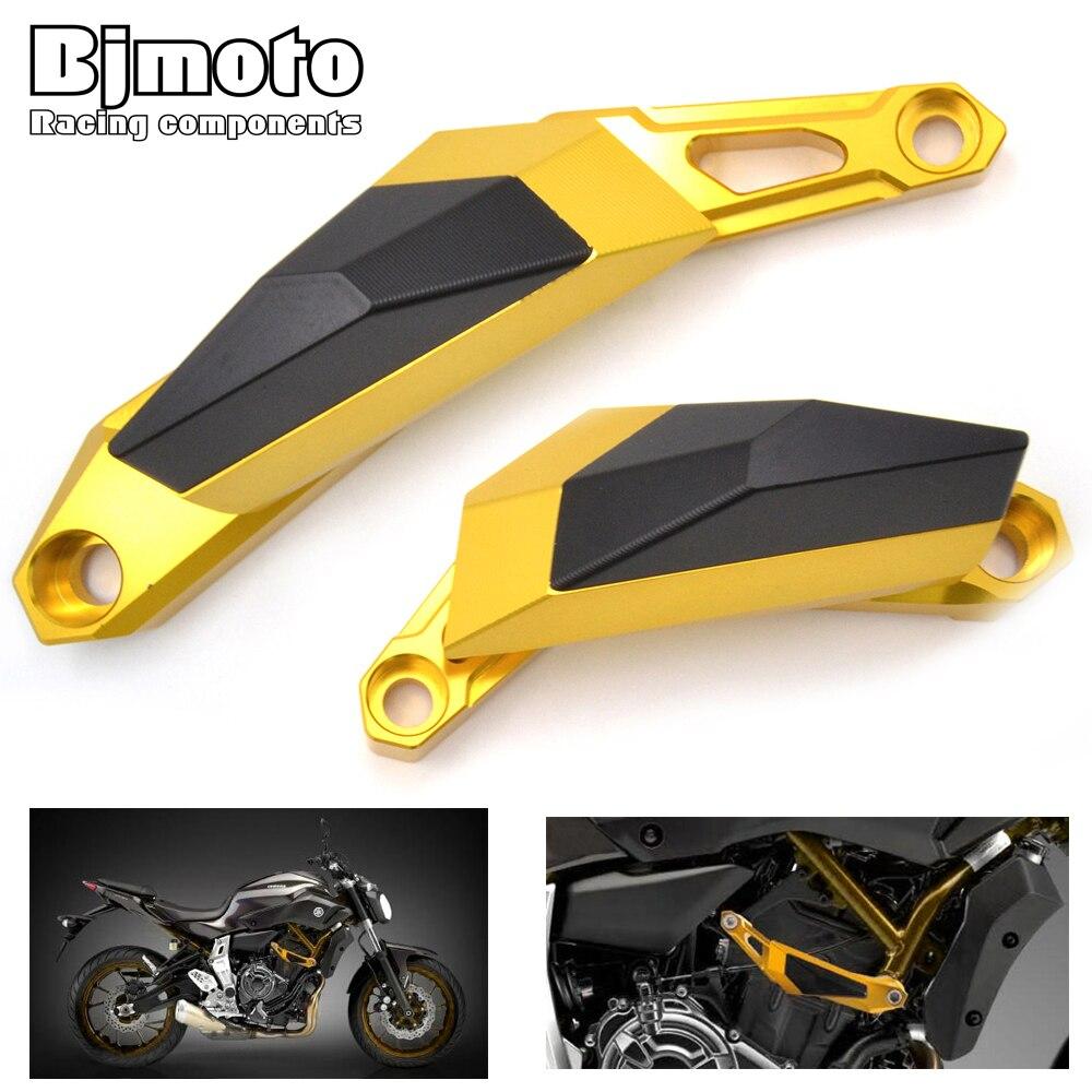 BJMOTO Новый мотоцикл Алюминиевый мотоциклов слева и справа Рамка слайдер Анти-краш протектор для YAMAHA MT07 Т-07 2013 2014 2015