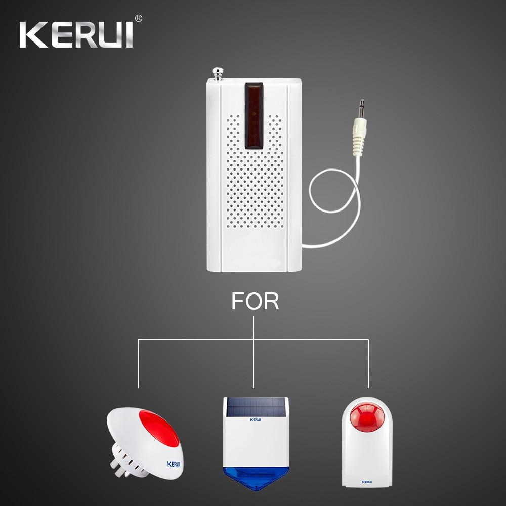 Signal Transmitter For Home Security Burglar Alarm System Siren  Sensor Signal Enhance 433MHz Extender