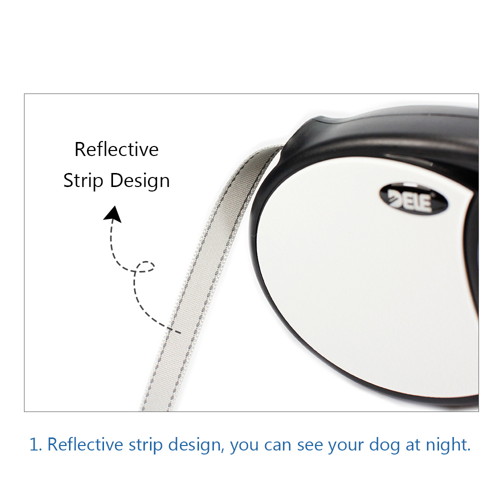 Image 5 - Bluerise High Quality Dogs Leash Automatic Retractable Pet Leash For Big Dogs Universal Remote Control With Super Flat Belt 5M-in Leashes from Home & Garden