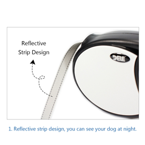 Image 5 - Bluerise High Quality Dogs Leash Automatic Retractable Pet Leash For Big Dogs Universal Remote Control With Super Flat Belt 5M
