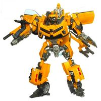 New Transformation Robot Car Action Figures Toys Yellow Car Sam Classic Robot Toys Brinquedos Model Toys