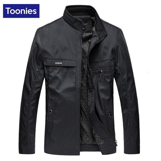 Men's Coat 2017 Spring New Jaqueta Masculina Veste Homme Stand Collar Windbreaker Jacket Men Business Coats Brand Clothing Top