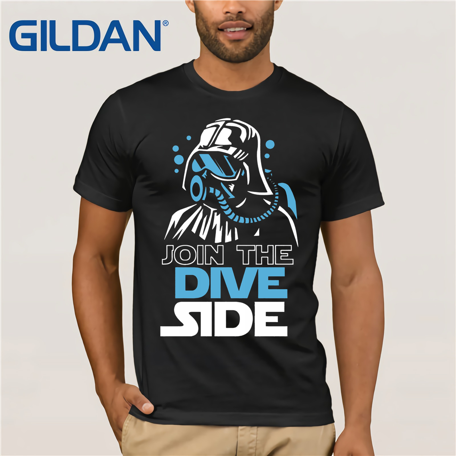 2019 New Plus Size Men Homme Summer Short Sleeve Scuba Dive Underwater New   T     Shirt   Short Sleeve Tees