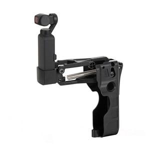 Image 1 - מתקפל Z ציר 4th ציר מייצב עבור DJI אוסמו כיס Smartphone כף יד Gimbal מייצב אוסמו כיס הרחבת הר בעל