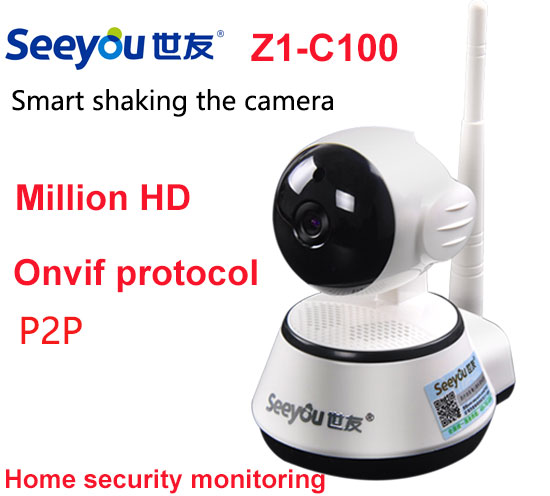 Home Security IP Camera 720P Wireless Smart WiFi Surveillance Camera WI-FI Audio Record Surveillance Baby Monitor HD Mini CCTV annke mini hd 720p smart wireless pt security camera 1 0mp indoor ip camera wifi baby monitor 720p cctv surveillance camera