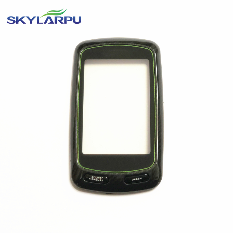 skylarpu 100 identical use Capacitive Touchscreen for Garmin Edge 810 GPS Bicycle stopwatch Touch screen digitizer