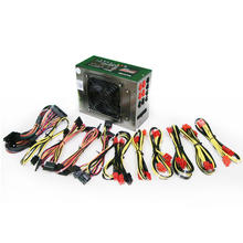 Mining case Power supply 1250W All modules mute mine mechanical and electrical source eth for BTC LTC DASH miners Riser