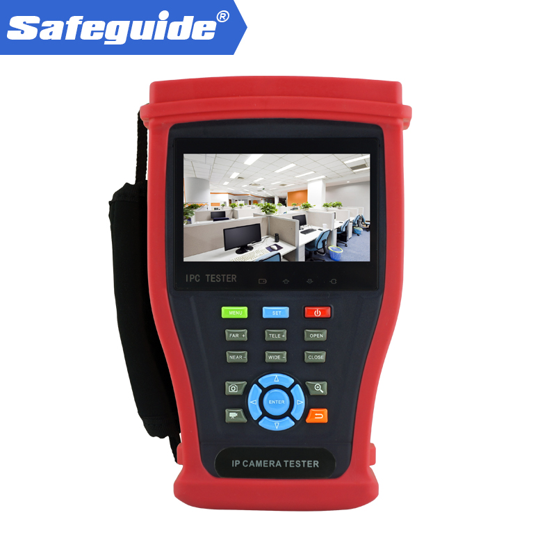 4.3 Inch  IPS Touch Screen, 960*540 Resolution With  Built In Wi-Fi, Display Image From The Wireless Camera, Create WIFI Hotspot