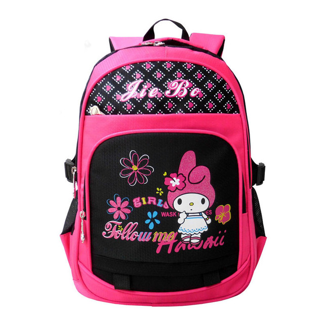 2016 New School Bags for Girls Children Animal Prints Backpacks Primary Students Backpacks Waterpfoof Schoolbag Kids Book Bag