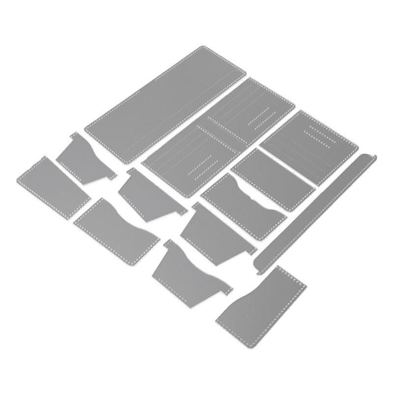 Fácil círculo de corte de acrílico de plantilla