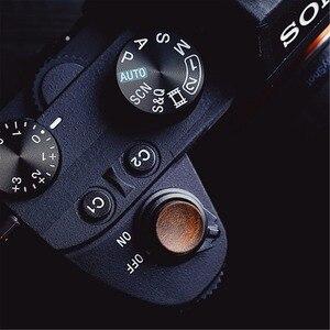 Image 5 - Мягкая деревянная кнопка спуска затвора с наклейкой для Sony A9 A7m3 A7RIII, деревянная кнопка спуска затвора с наклейкой для Sony A9 A7m3 A7RIII, ILCE 7RM3 A7R MKIII