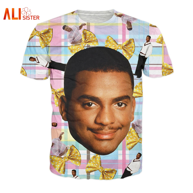 For the biggest Carlton Banks (Fresh Prince of Bel-Air) fans! Each shirt is unique and made to order. We generally ship within 1 to 2 business days, and delivery for domestic (US) orders is usually within a week of ordering.