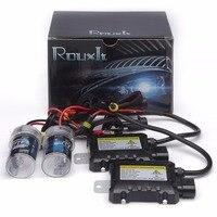 1 Unidades Slim Kit de lastre xenon hid kit 55 W H3 H1 H4 xenón H7 H8 H10 H11 H27 HB3 HB4 H13 9005 9006 Luz de coche faro xenon hid kit