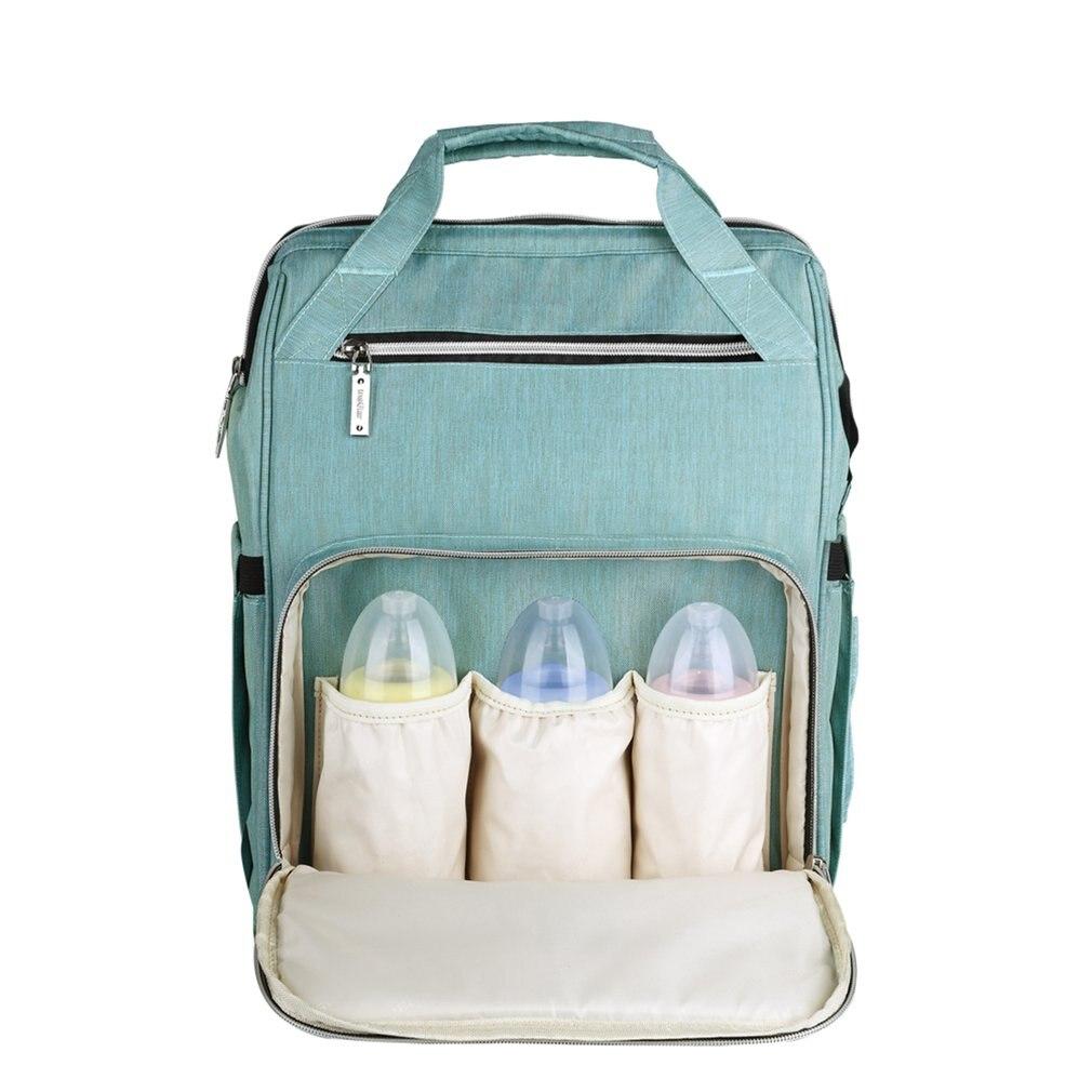 все цены на Fashion Mummy Maternity Diaper Bag Waterproof Large Capacity Travel Baby Stroller Nursing Bags Nappy Backpack