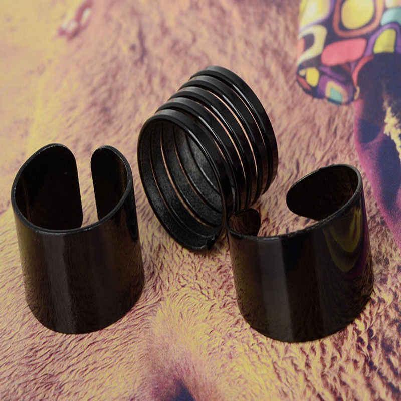 3 ชิ้น/เซ็ตผู้หญิงชุด Black Stack Plain Knuckle วง Midi แหวนที่ชื่นชอบ bague femme