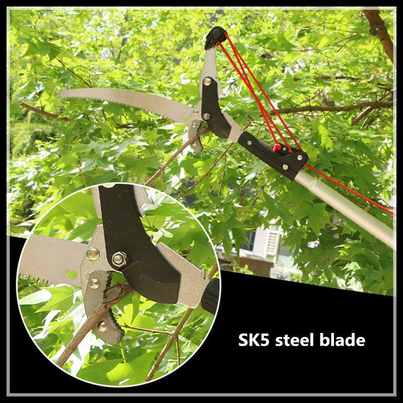 На открытом воздухе 3 м изогнутые нож четыре шкива серпы садовые инструменты обрезка инструменты