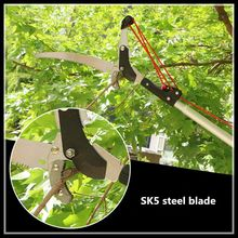 Outdoors 3 m curved knife four pulley pruning shears garden tools pruning tools