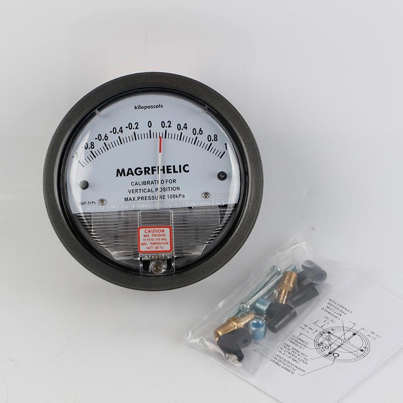 1 to 1kpa Micro Differential Pressure Gauge High TE2000