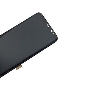 Image 5 - Nieuwe Super Amoled Voor Samsung Galaxy S8 Lcd Met Frame S8 G950 G950F Lcd Display S8 Plus G955 G955F Lcd touch Screen Digitizer