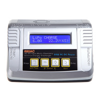 GoolRC 80W 6A IMAX B6 LiPo LiFe NiMH NiCD Pb AC DC Battery Balance Charger Discharger