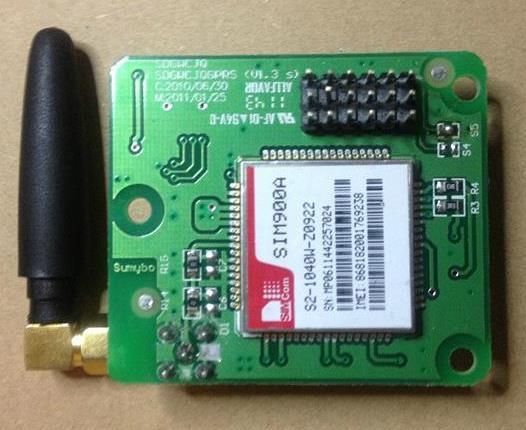 Бесплатная доставка! 1pcx GSM SIM900A GPRS модуль развития доска обучения