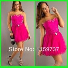 Kundenspezifische Mode Schatz Organza A-linie Cocktailkleid Junge Frauen Moderne Stil Kleid