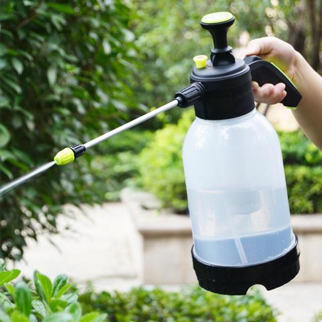 2L Hand Pressure Sprayer Plastic Nozzle Pump Type For Garden Irrigation Garden  Supplies Home Sprinkler A111