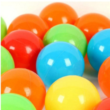 150pcs Eco-Friendly Colorful Soft Plastic Water Pool Ocean Wave Ball Baby Funny Toys Stress Air Ball Outdoor Fun Sports Children