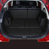 Custom Full Covered Boot Carpets Waterproof Durable Car Trunk Mats for Mitsubishi Outlander 5 Seats 7 Seats 2013 2018 Year