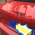 Новая модификация Автомобиля мини ABS хвост Для Audi A1 A3 A4 A5 b6 b8 c5 A5 A6 A7 A8 Q5 Q7 TT R8 RS хвост Audi логотип