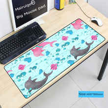Mairuige Dolphin Animal photo pictures DIY Custom L XL Super large Mouse pad gamer gaming keyboard mat computer tablet mouse pad